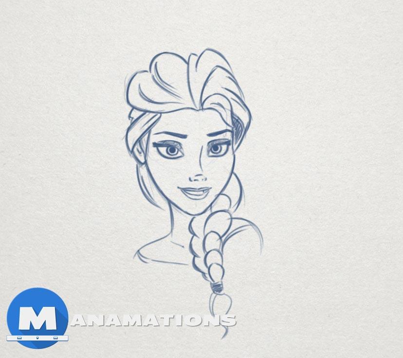 Quick Sketch #5 – Elsa