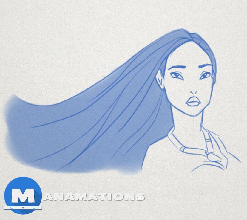 Quick Sketch #4 – Pocahontas