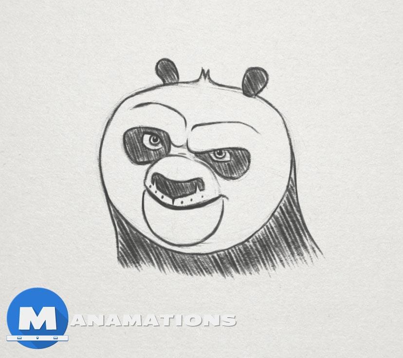 Quick Sketch #6 – Kung Fu Panda