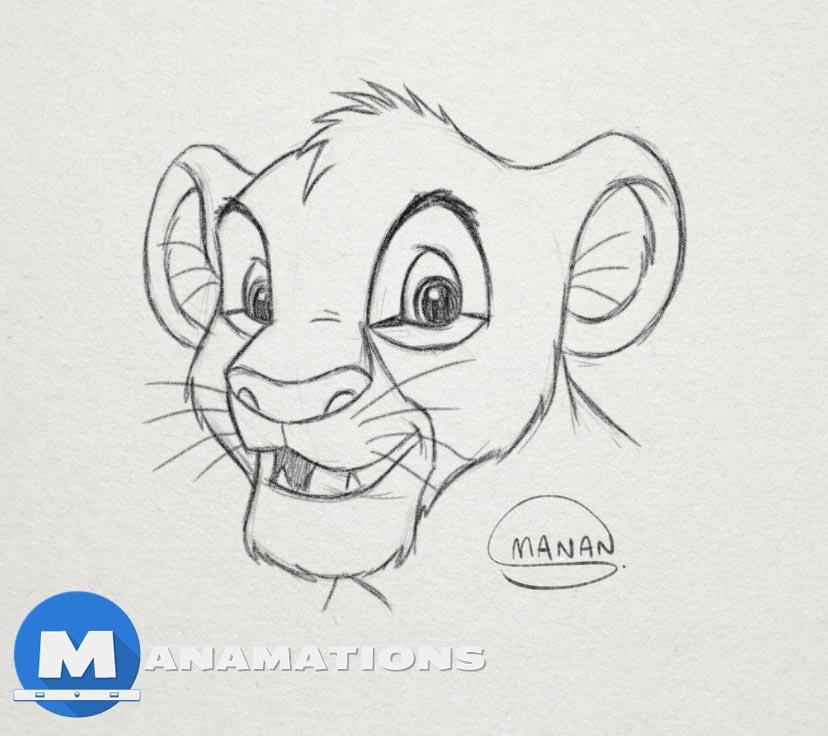TOON BOOM HARMONY – Sketching Simba